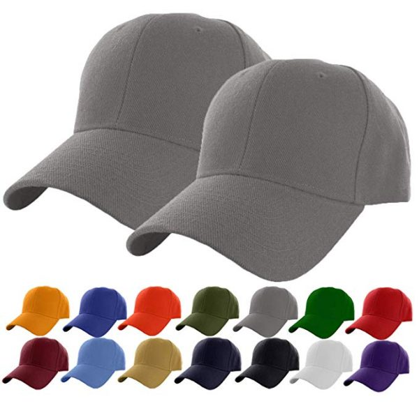 Cap Classic Adjustable Plain Hat Men Women Unisex