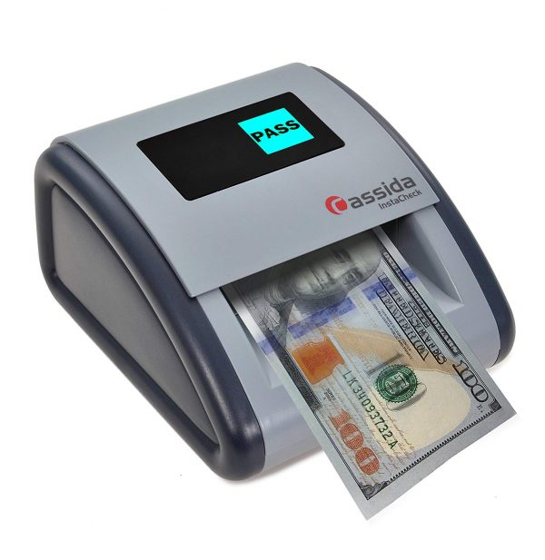 Cassida Small Footprint Easy Read Automatic Counterfeit Detector